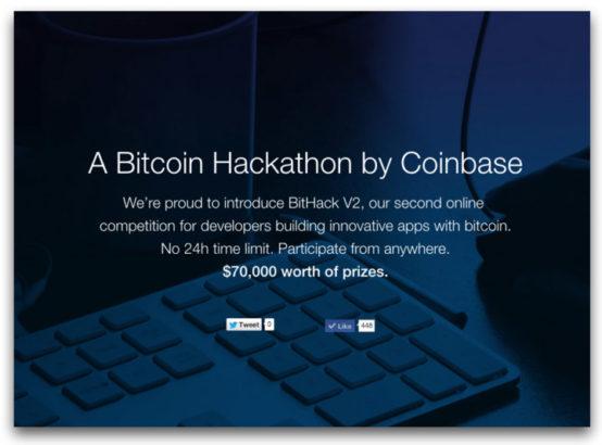 coinbase bitcoin hackathon