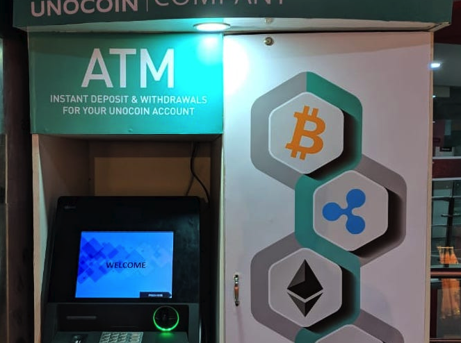 Unocoin Kiosk ATM