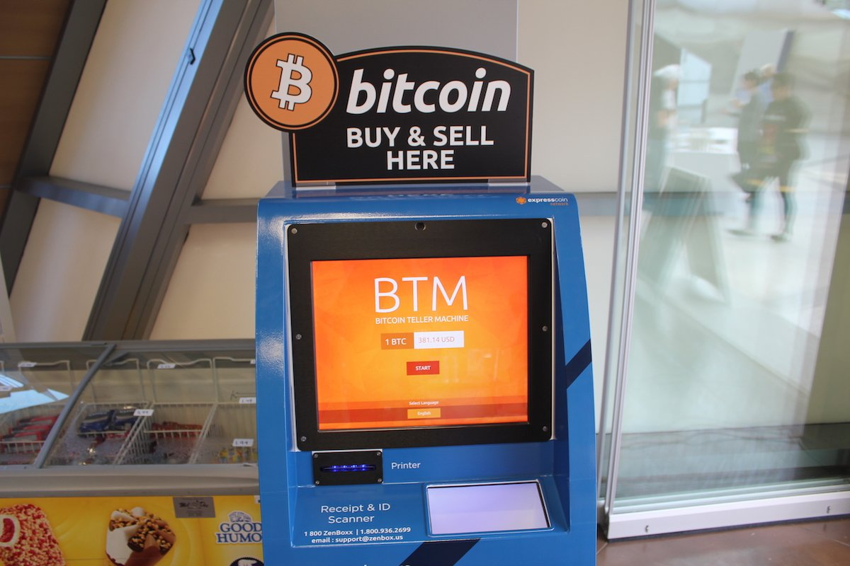 Kripto Para ATm Bitcoin