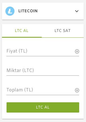 Litecoin Satın Al - Paribu Market