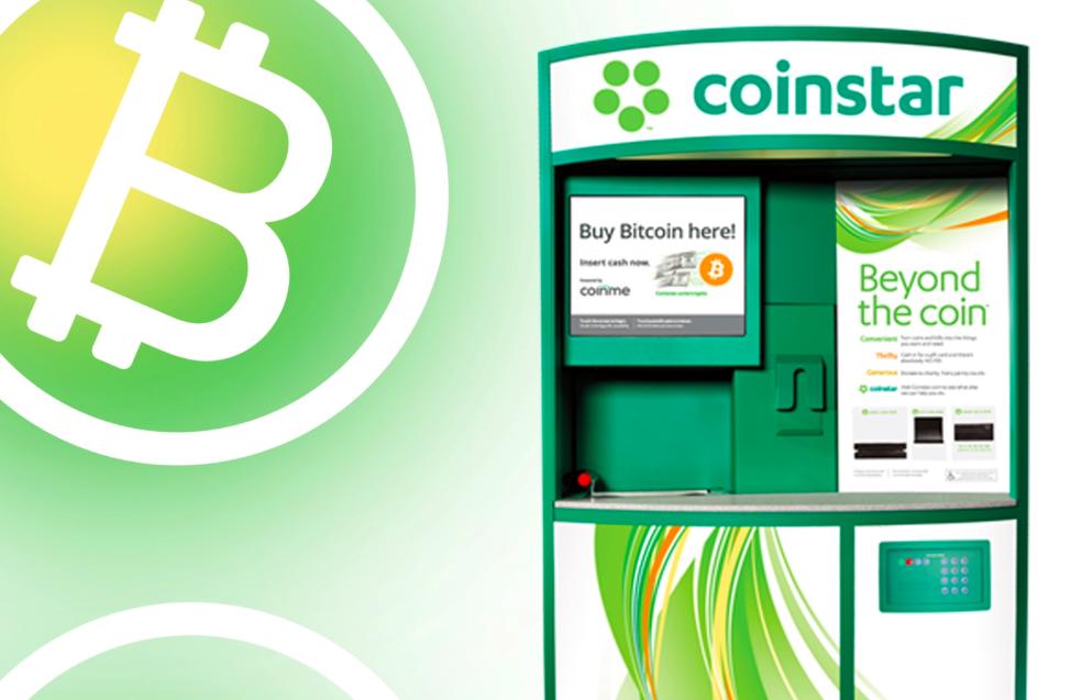 Coinstar Kiosk Bitcoin BTC Fişi