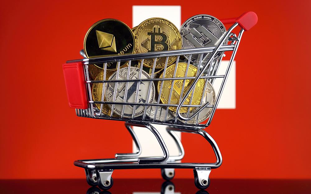 Amazon İsviçte Bitcoin BTC