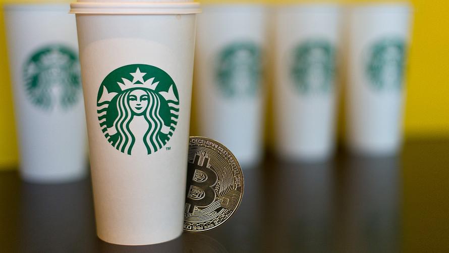 Starbucks Bitcoin Ödeme