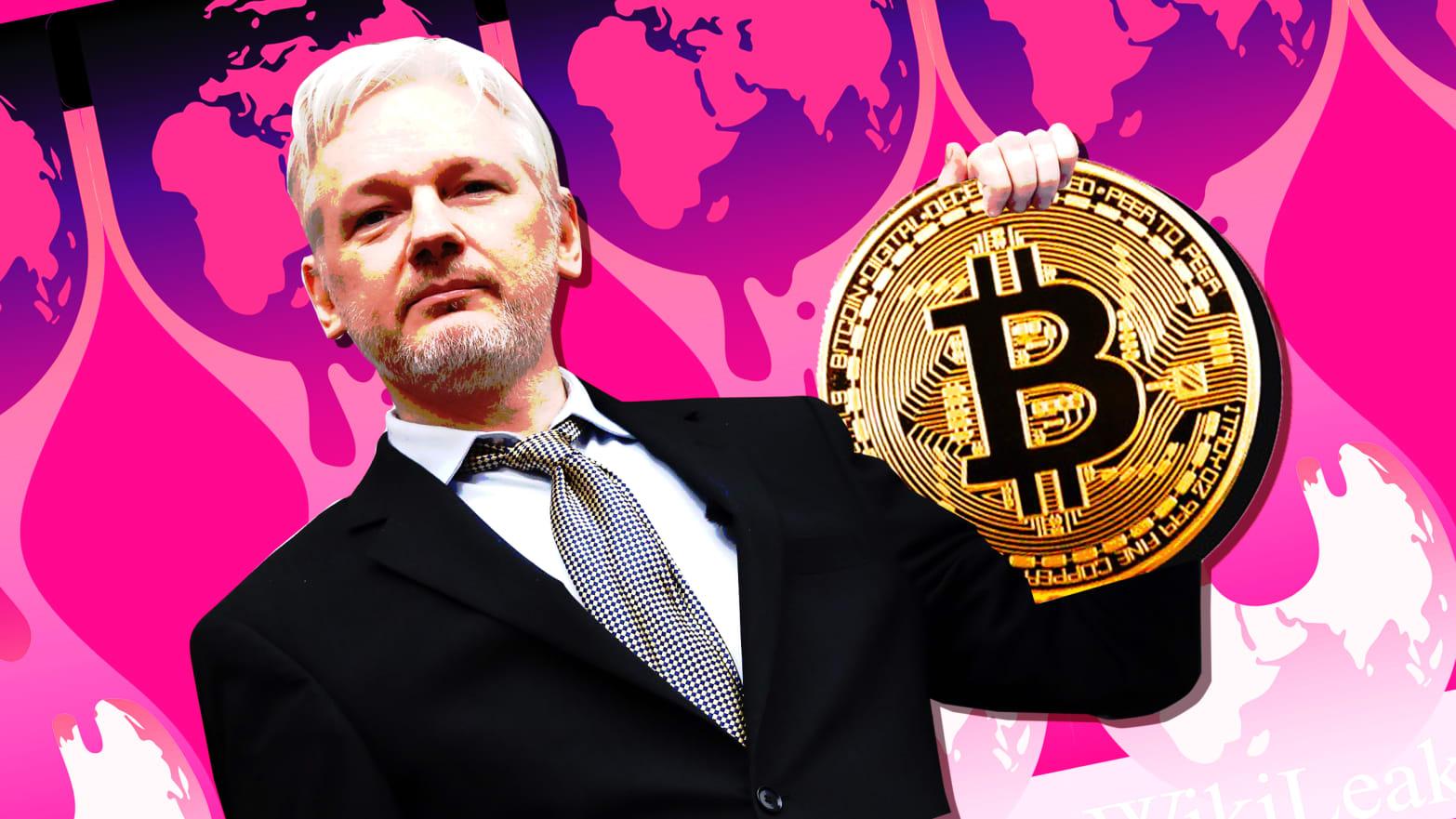 WikiLeaks Bitcoin Bağış
