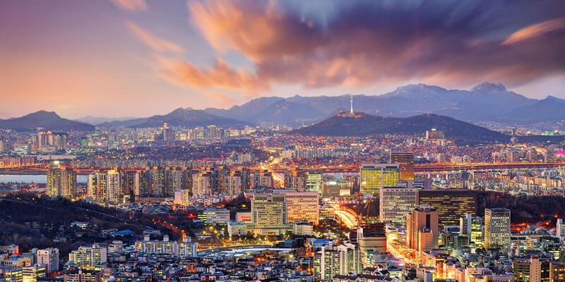 Güney Kore Başkenti Seul Blockchain