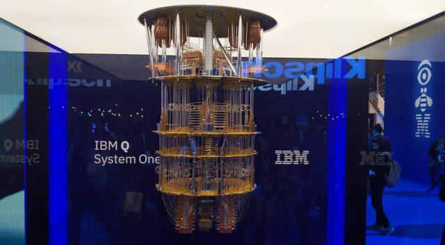 IBM Q System One Kuantum Bilgisayar