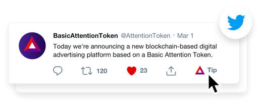 Twitter Basic Attention Token (BAT)