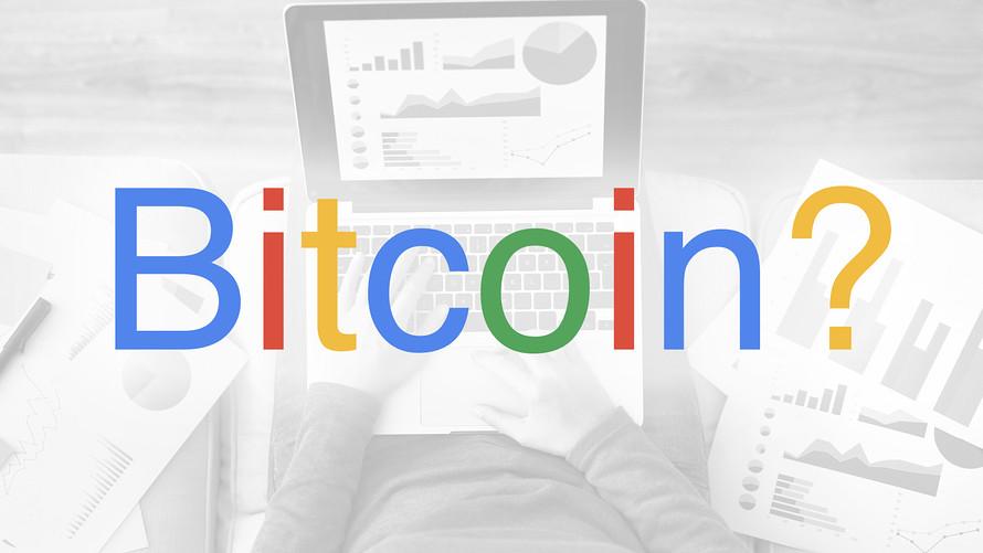Google Bitcoin Aramaları