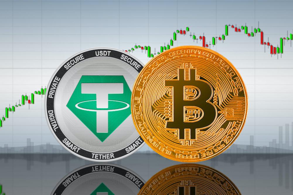 Tether USDT ve Bitcoin BTC