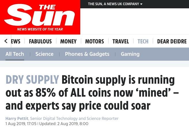 The Sun Bitcoin