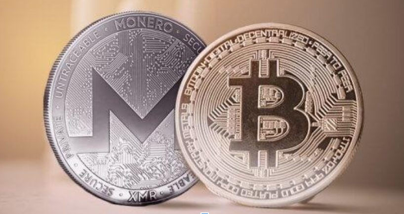 XMR Monero ve BTC Bitcoin