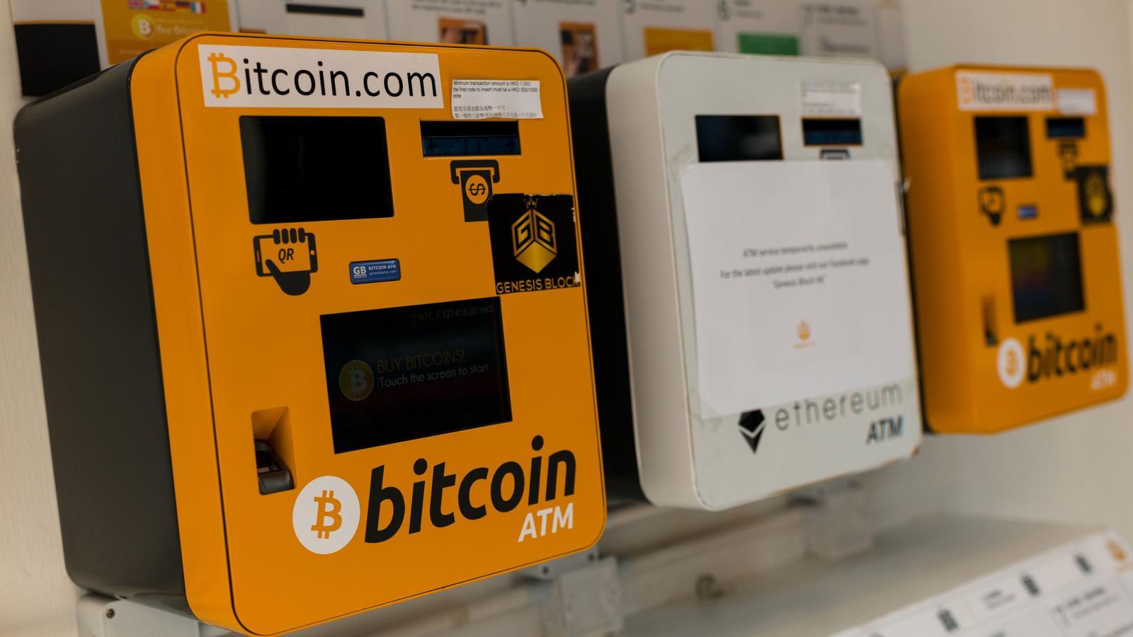 bitcoin ATMleri
