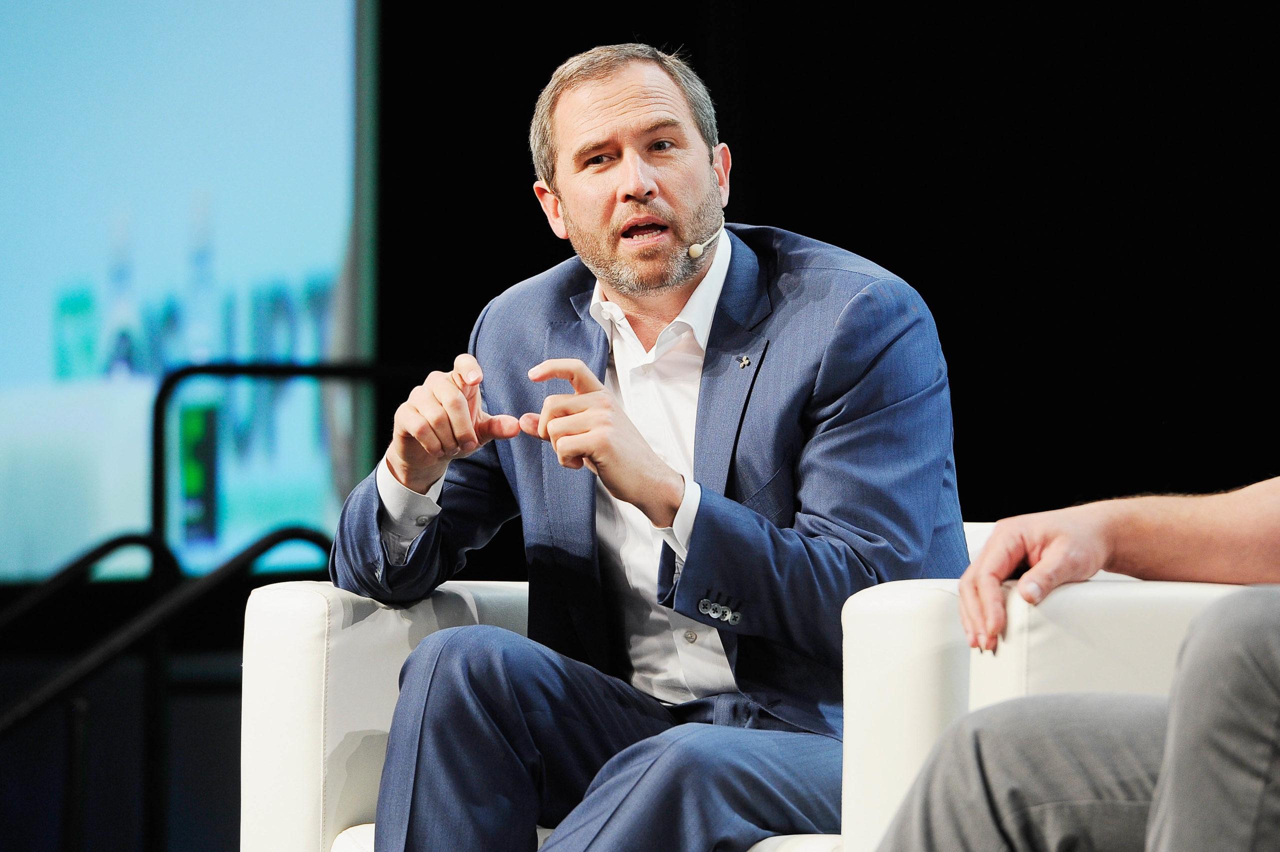 Ripple CEOsu En Büyük 20 Bankanın Kripto Paraları Benimsemesini Bekliyor scaled