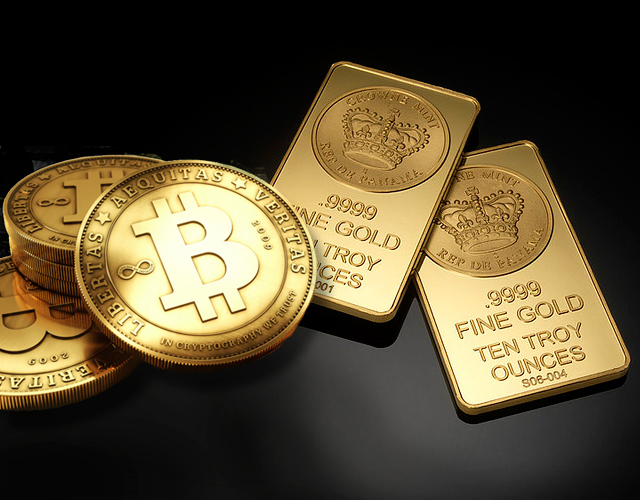 Altın Gümüş ve Bitcoin BTC