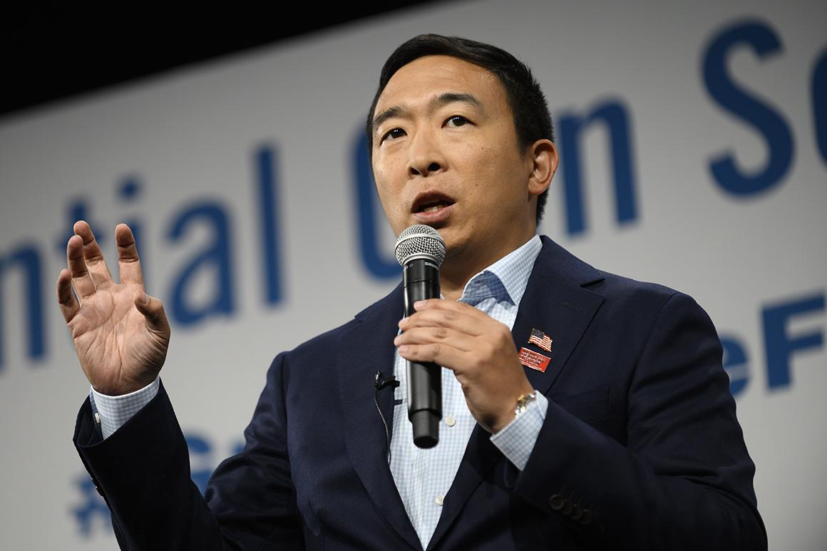 Andrew Yang Bitcoin engellenemez