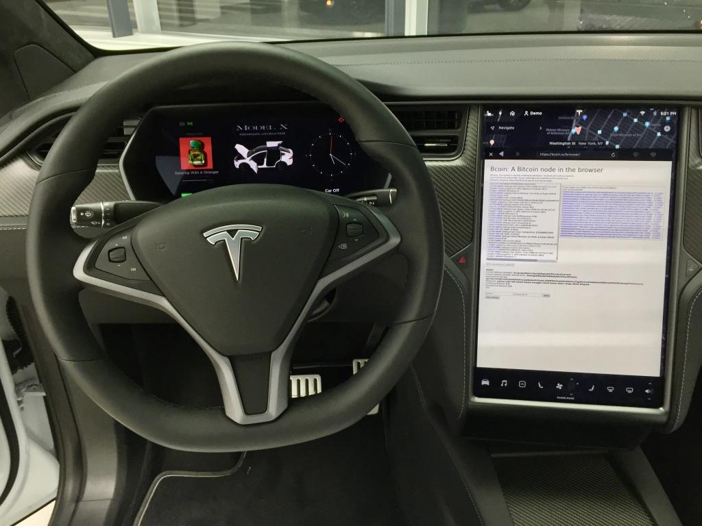 Bitcoin Düğümü Tesla