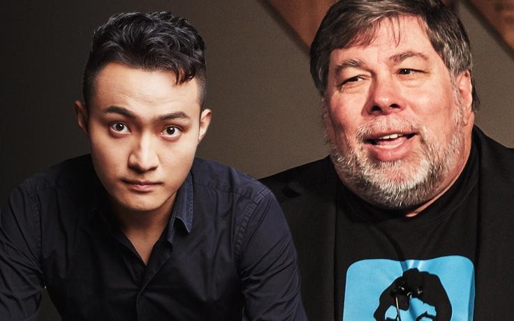 Justin Sun ve Steve Wozniak