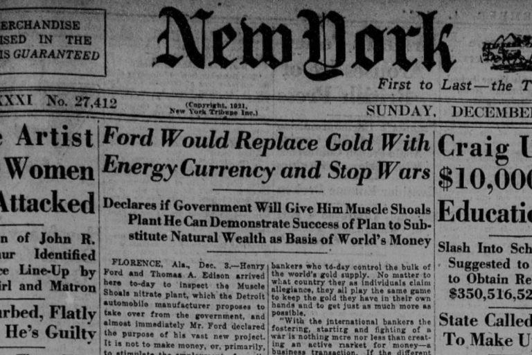 henry ford bitcoin