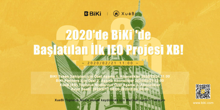 BiKi.com XB Token