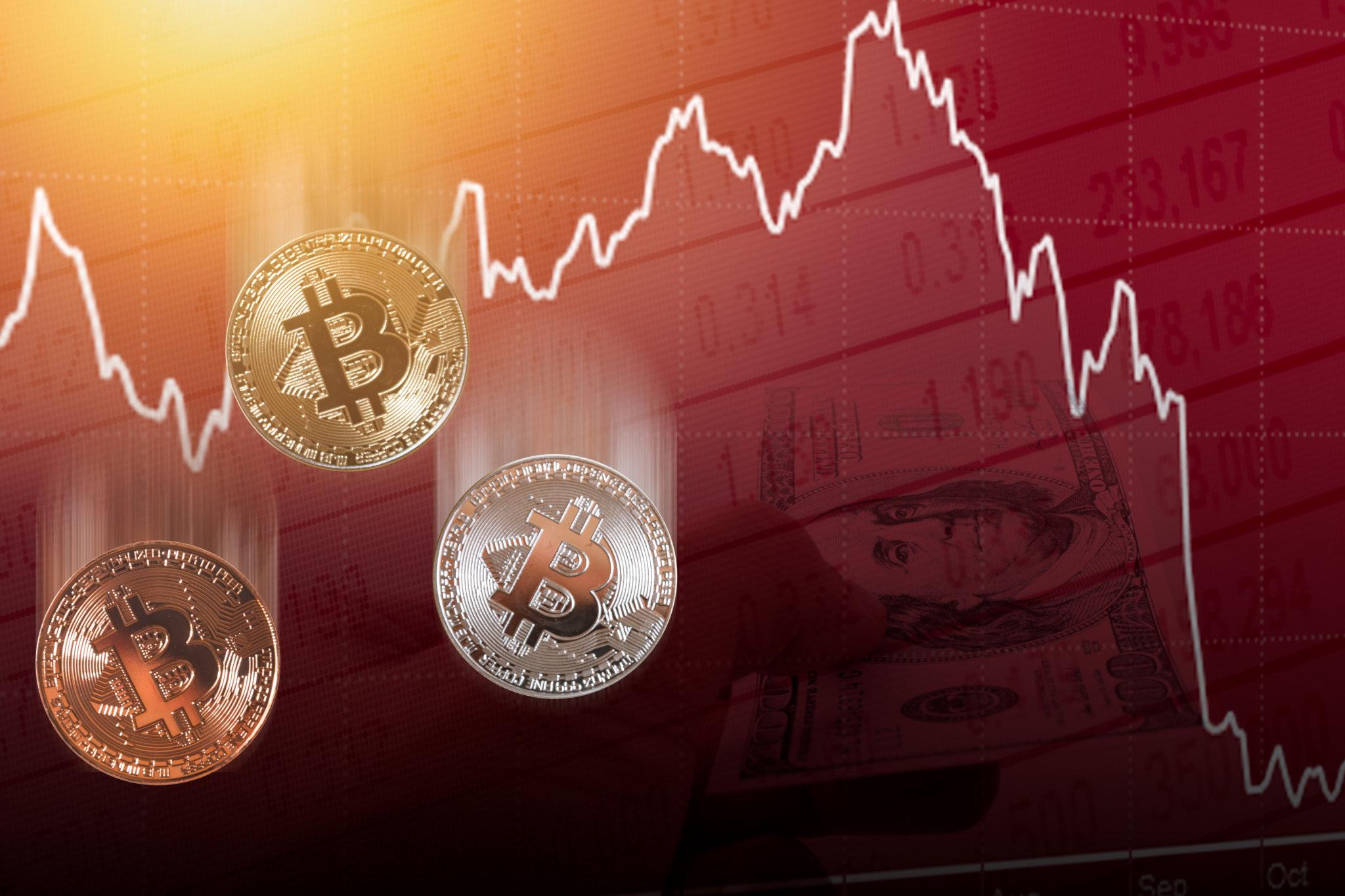 Bitcoin BTC Düşüşünü Sürdürüyor