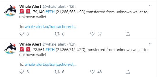 Ethereum Whale Alert