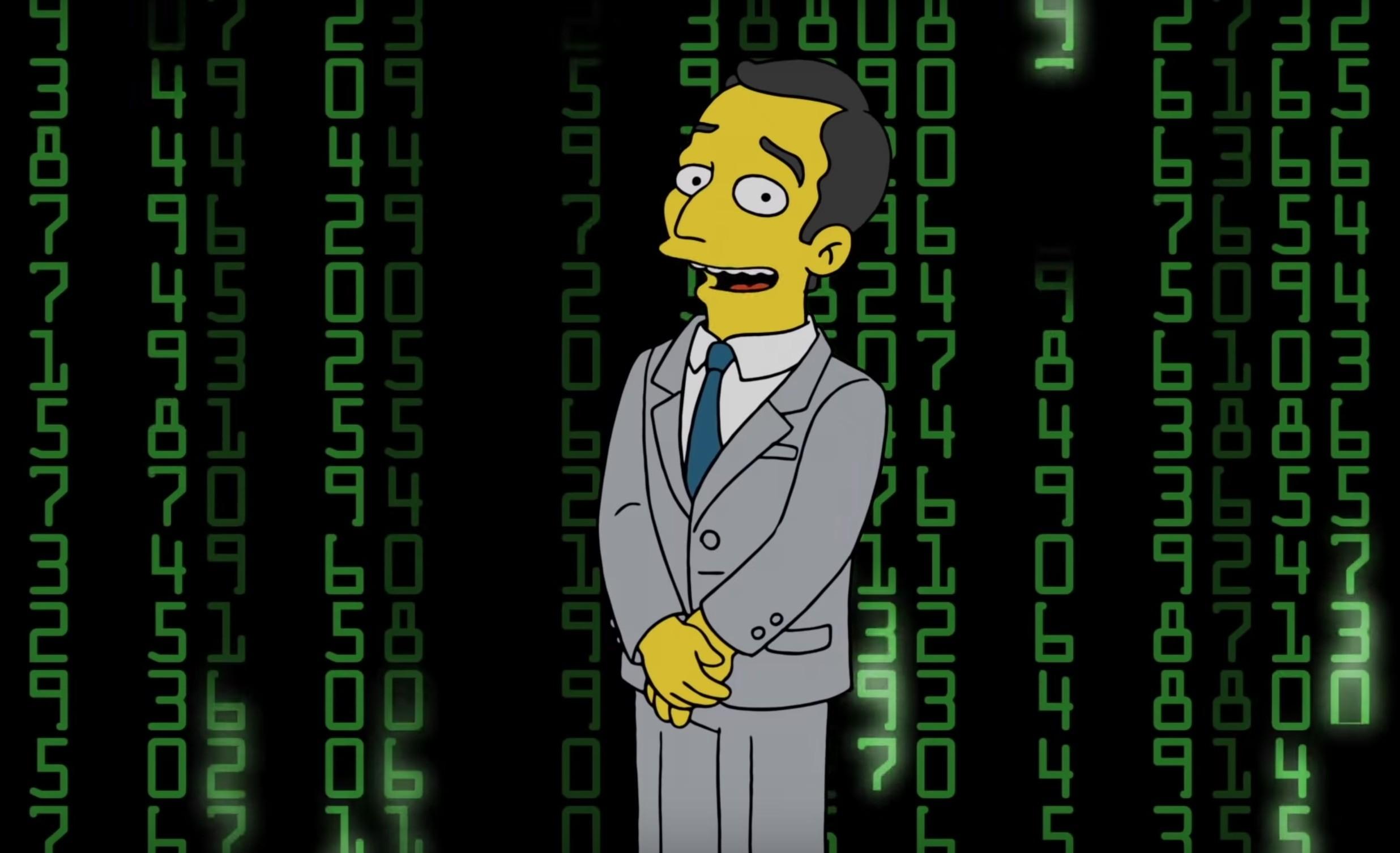 Simpsonlar Bitcoin ve Kripto Paralar ve Blockchain