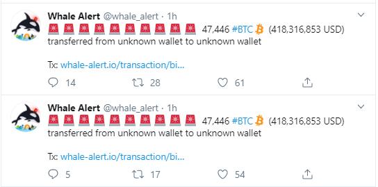 Bitcoin'de Devasa İşlemler
