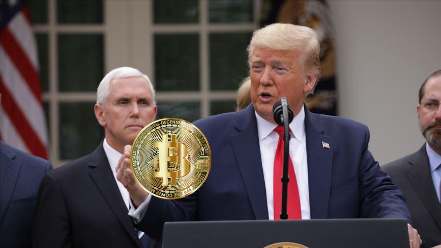ABD Başkanı Donald Trump Bitcoin BTC