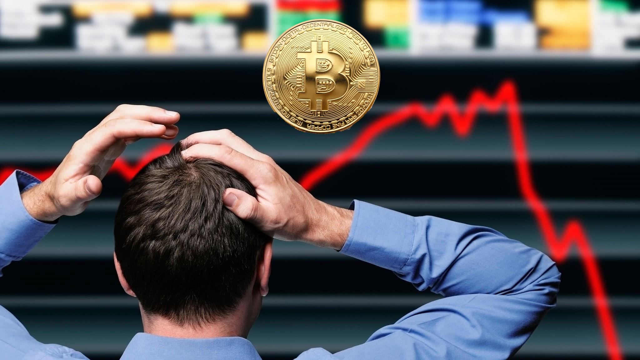 Bitcoin Mayıs 2019'dan Bu Yana İlk Kez 6 Bin Doların Altına Düştü