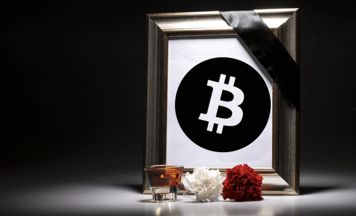 Bitcoin yasanan cokus