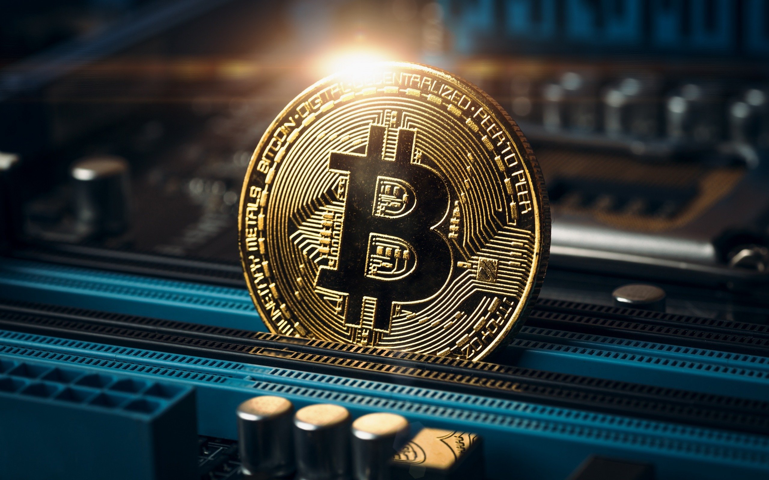 bitcoin crypto currency business concepts mining concepts gold coin