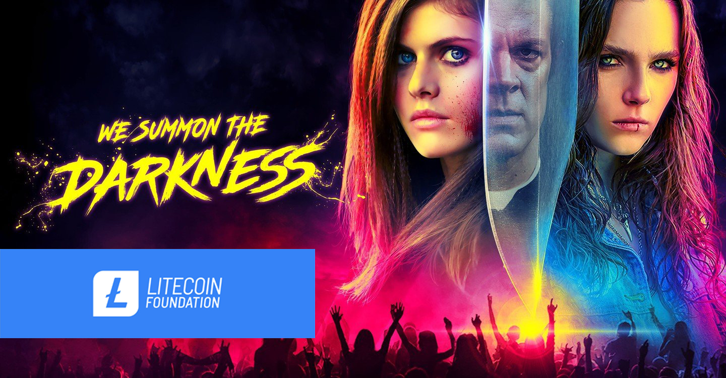 litecoin film sektörüne girdi we summon the darkness
