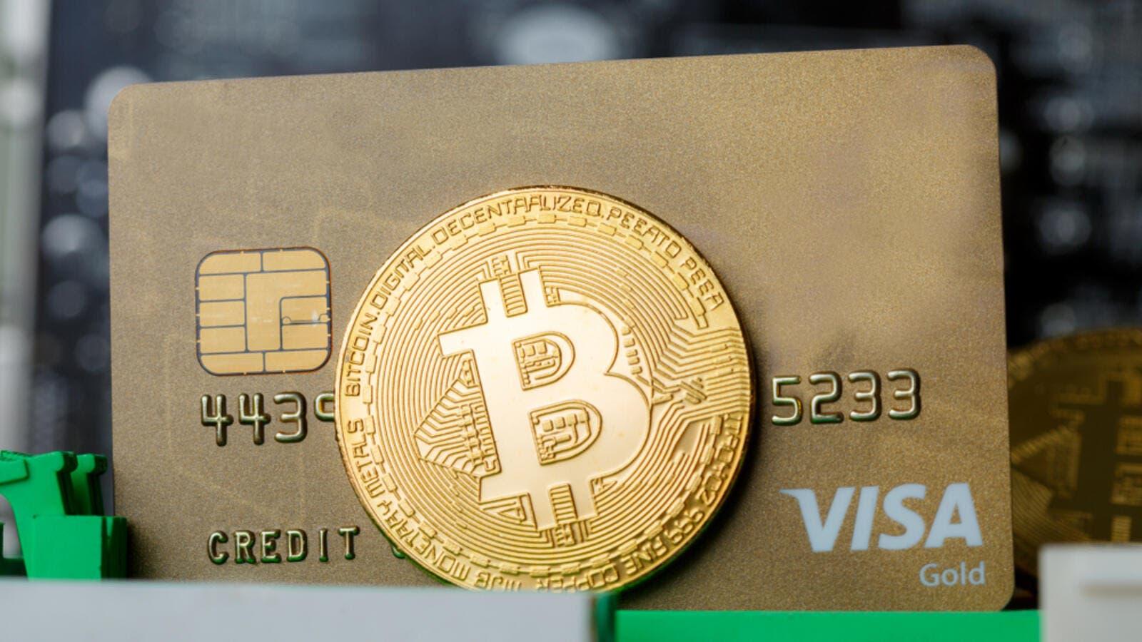 Visa Bitcoin shutterstock Apr17