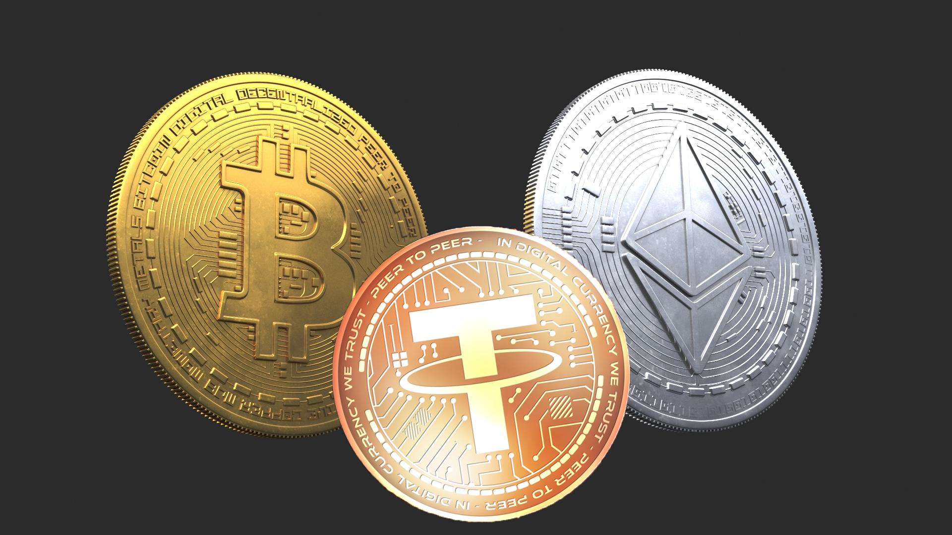bu üç kripto para işlem hacminin yüzde 97sinden sorumlu