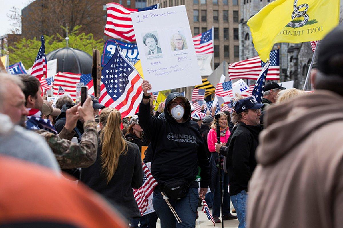 Bitcoin ABD Protestolar