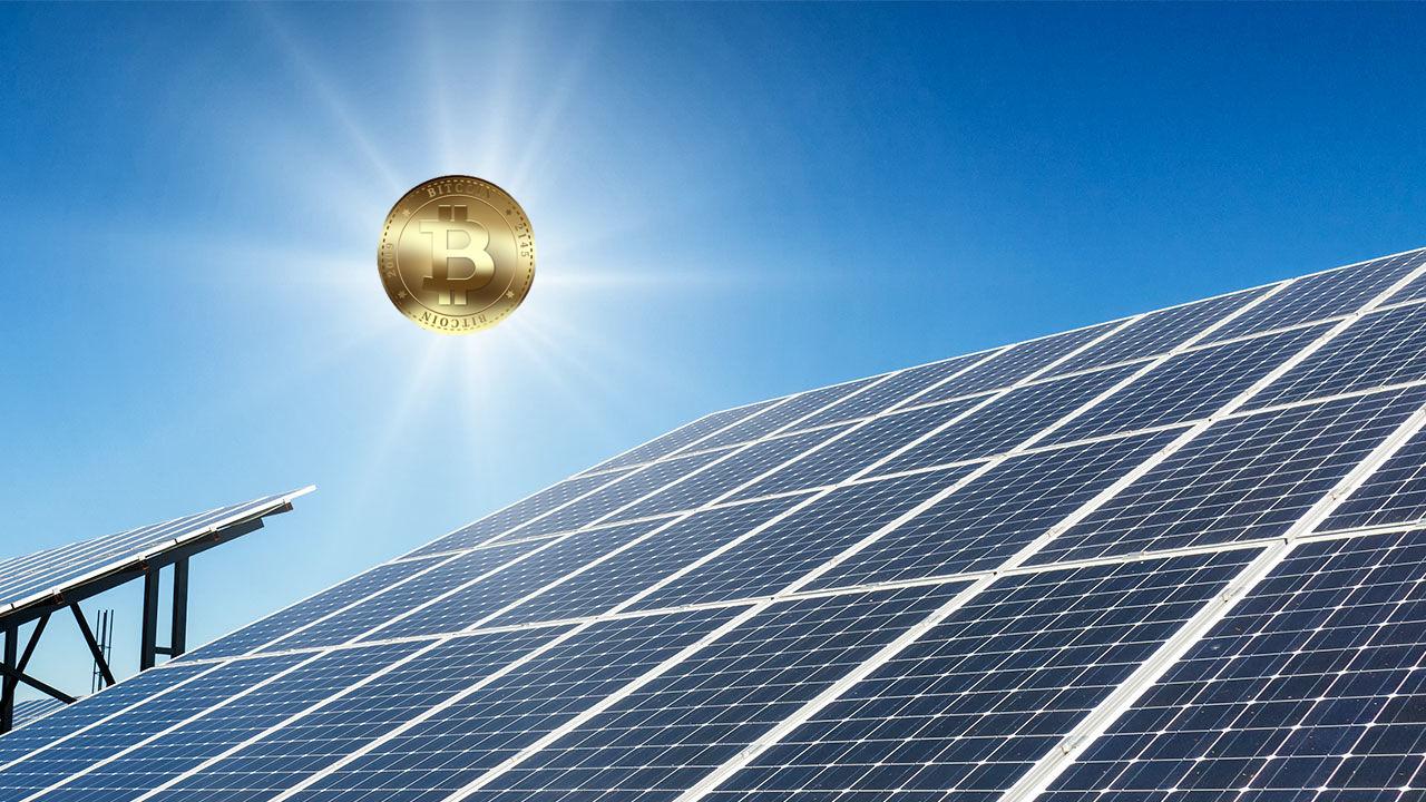 Bitcoin ve güneş enerjisi firması solar exchange