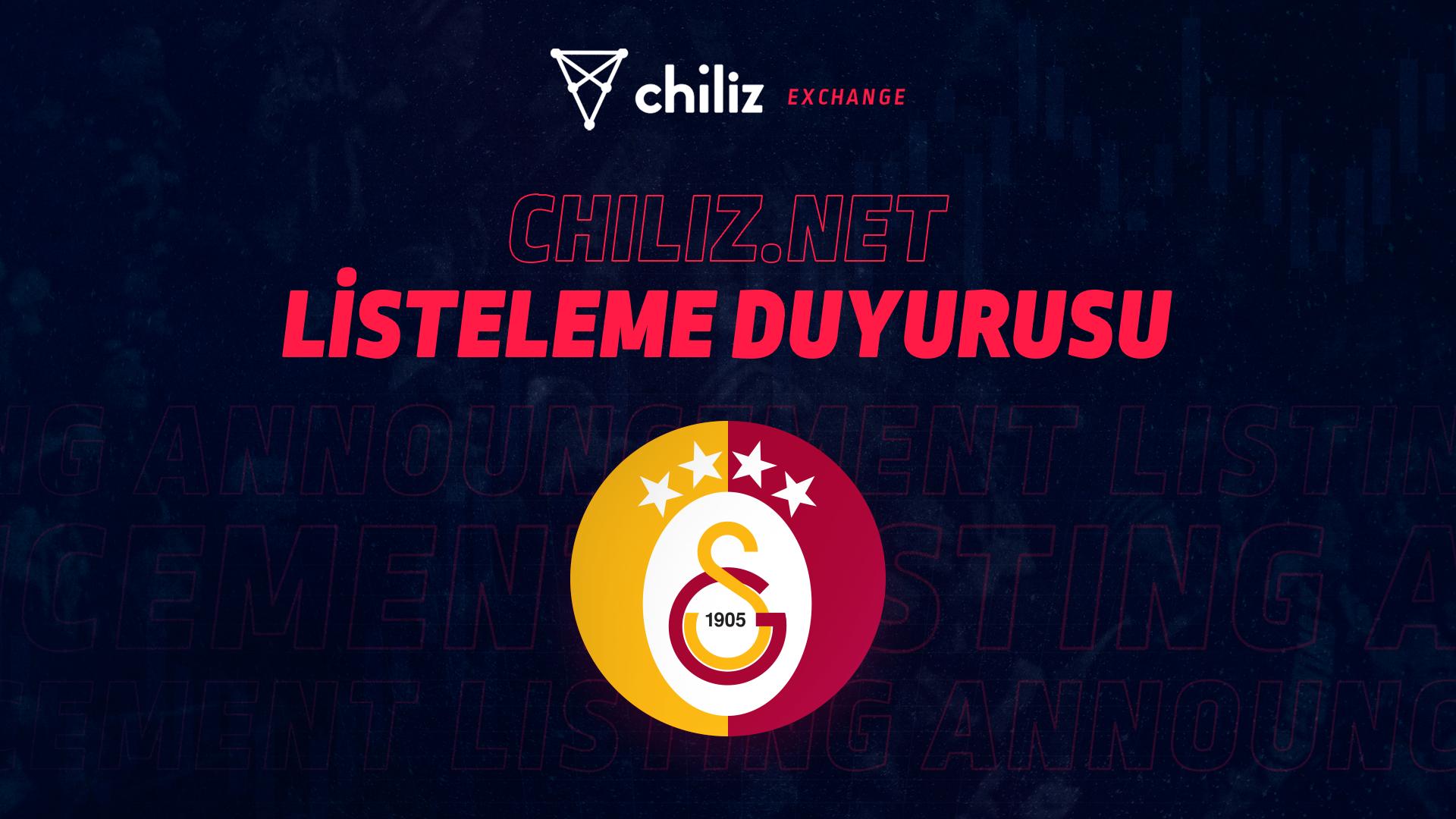 Galatasaray Taraftar Tokeni GAL Chiliz CHZ