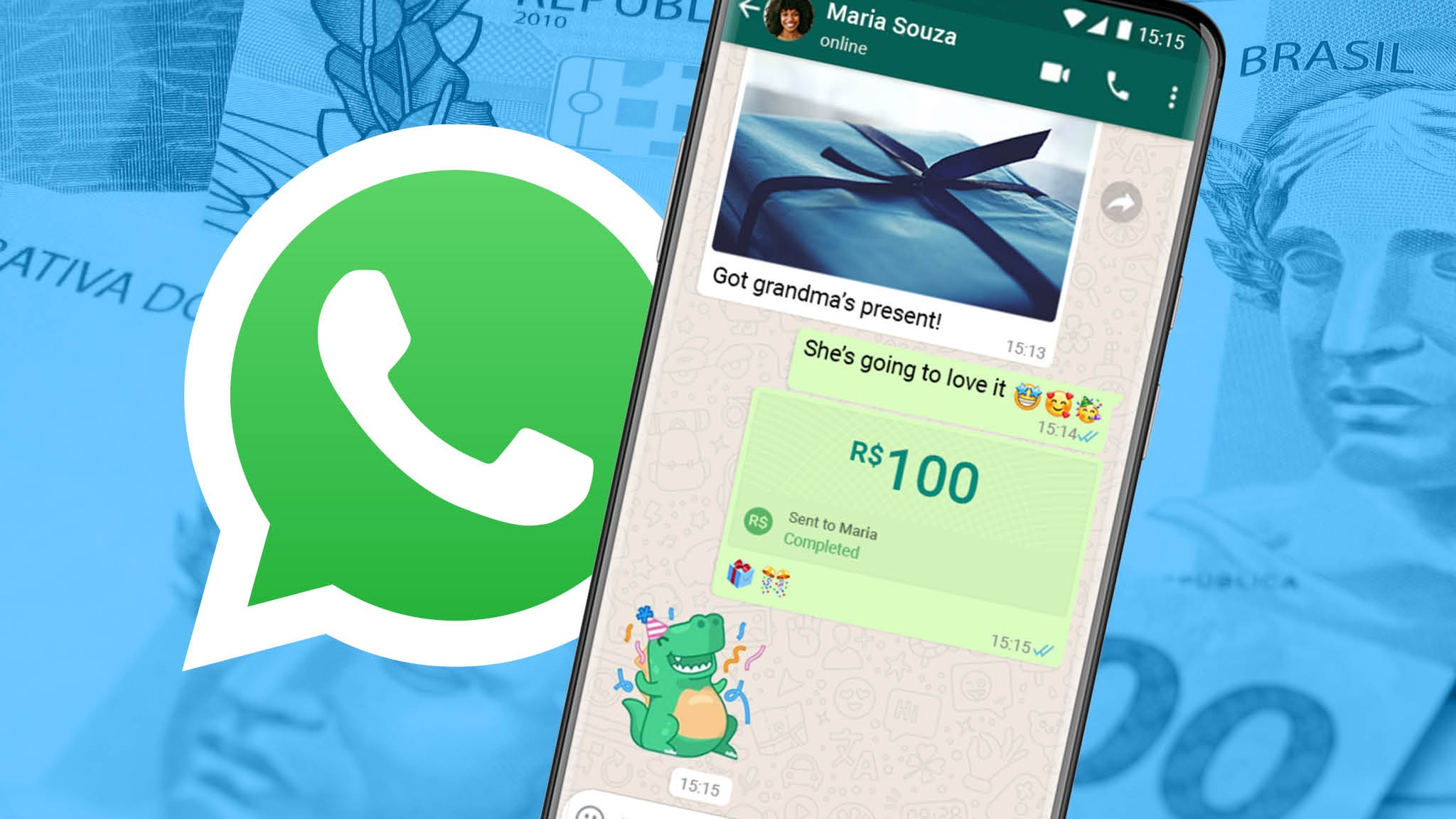 whatsapp ödeme brezilya