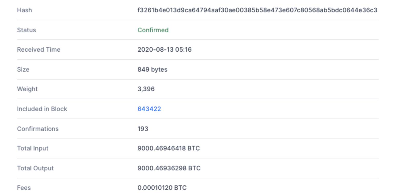 bitcoin balina transfer