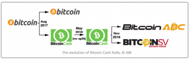 bitcoin cash hard forks
