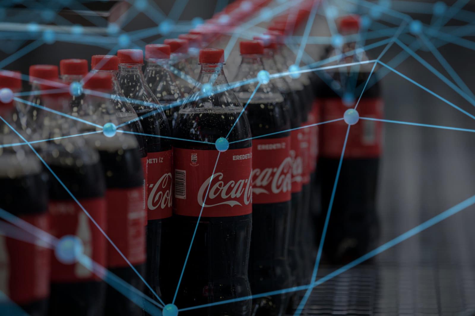 coca cola defi dünyasına katılıyor
