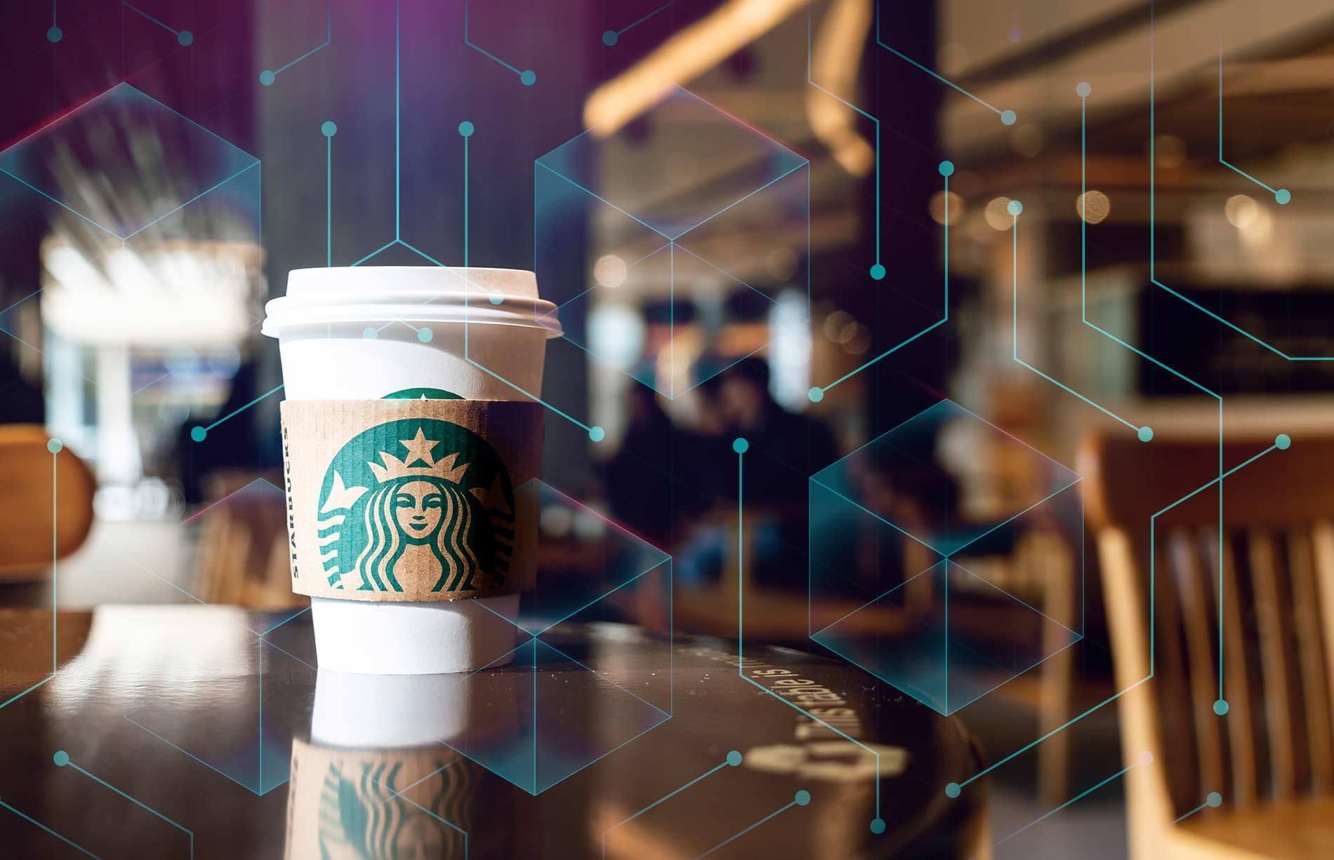 starbucks blockchain ile takip edecek