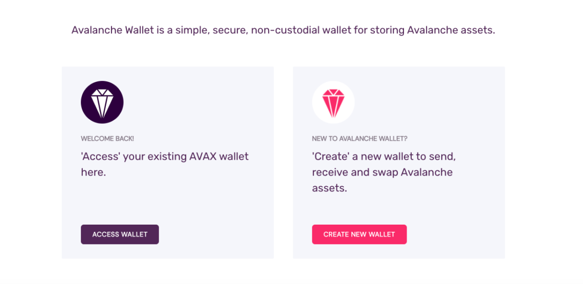 Avalanche Wallet