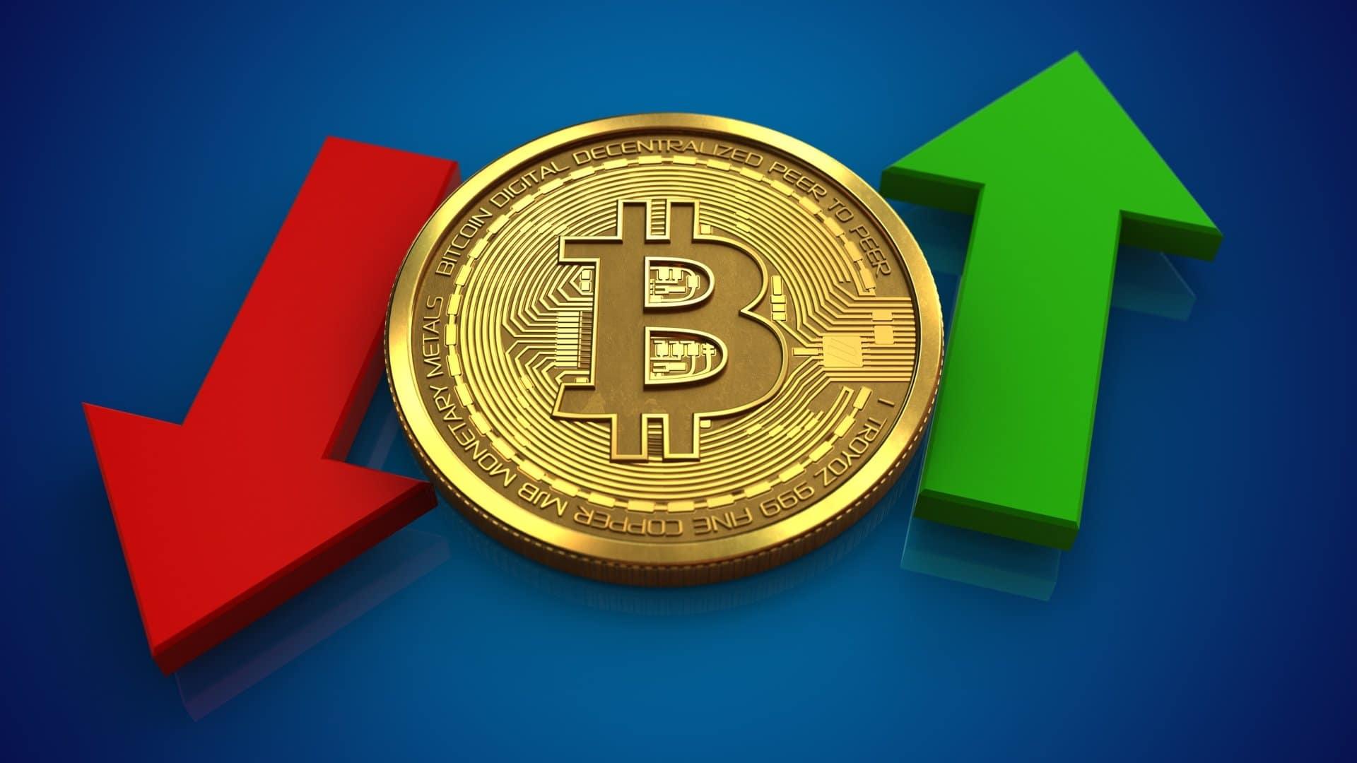 Bitcoin BTC Fiyatinda Sert Yukselis ve Dususler