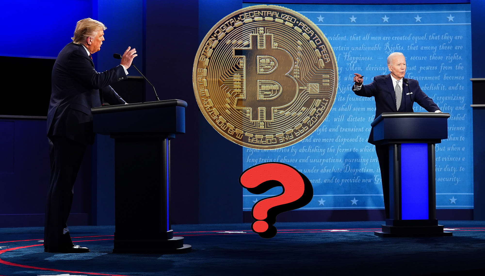 Donald Trump vs Joe Biden Bitcoin ve Kripto Paralar Icin Hangisi