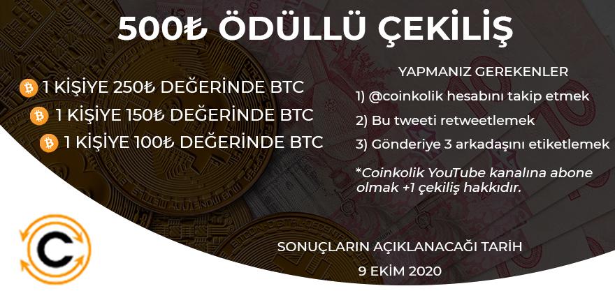 Ekim Cekilis Türk Lirası Bitcoin BTC