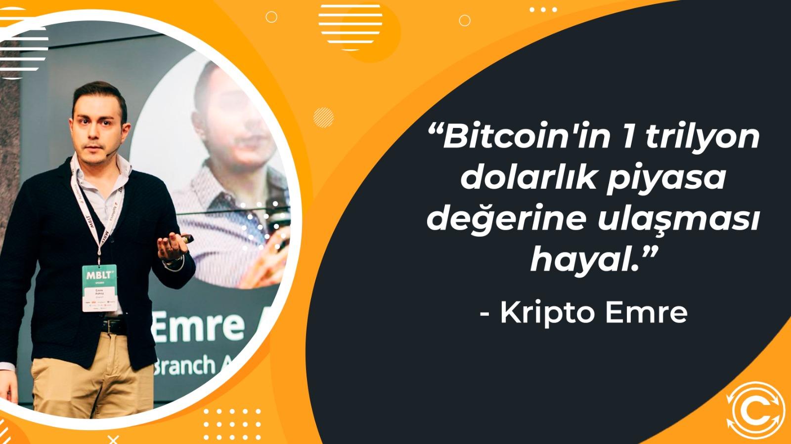 Kripto Emreden Bitcoin BTC ve Altcoin Piyasasina Dair Guncel Aciklamalar