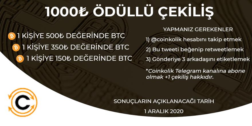 bitcoin btc çekiliş
