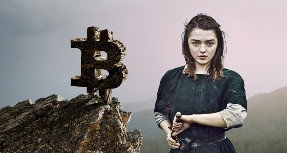 arya stark bitcoin