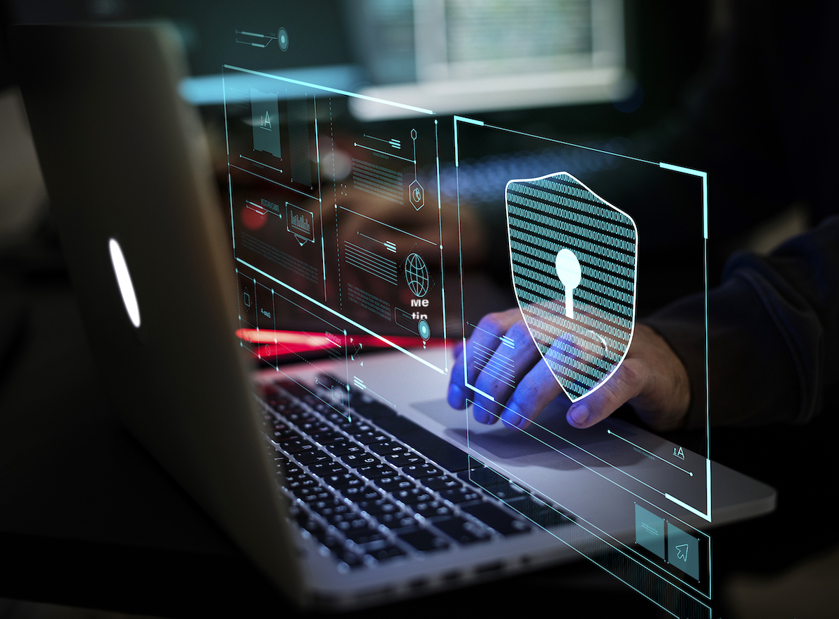 digital crime by anonymous hacker